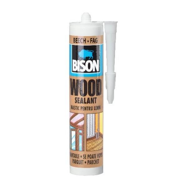 Obalový materiál drogerie - BISON WOOD SEALANT - 300 ml