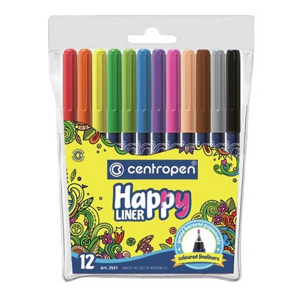Psací potřeby - HAPPY LINER 2521 - 12ks