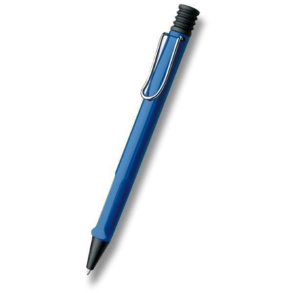 Psací potřeby - Lamy Safari Shiny Blue kuličková tužka