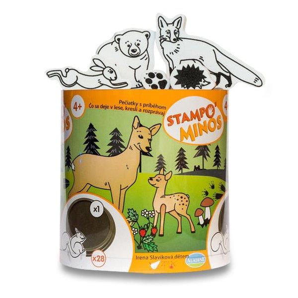 Školní a výtvarné potřeby - Razítka Aladine Stampo Minos - Lesní zvířátka