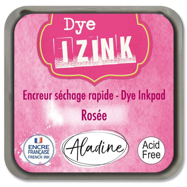 Školní a výtvarné potřeby - Razítkovací polštářek Izink Dye rychleschnoucí sv. růžová