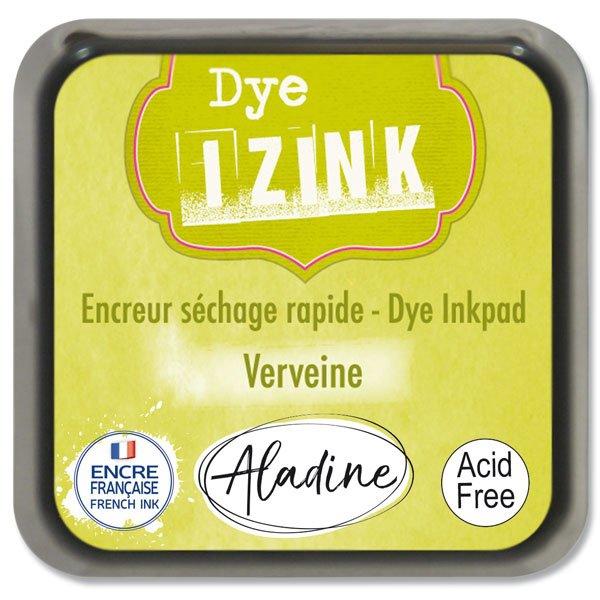 Školní a výtvarné potřeby - Razítkovací polštářek Izink Dye rychleschnoucí žlutozelená
