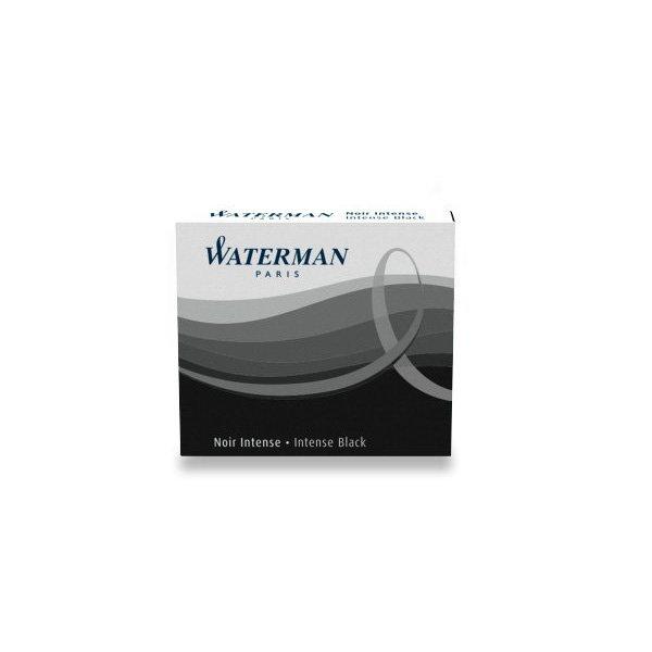 Psací potřeby - Inkoustové bombičky Waterman krátké černé