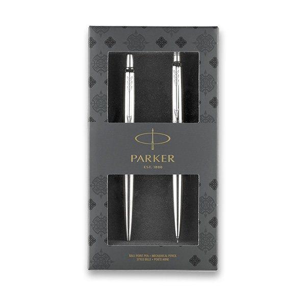 Psací potřeby - Parker Royal Jotter Stainless Steel CT sada kuličková a mechanická tužka