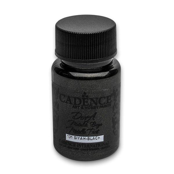 Školní a výtvarné potřeby - Akrylové barvy Cadence Dora Metalic černá