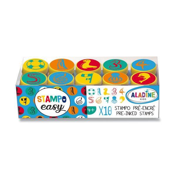 Školní a výtvarné potřeby - Razítka Aladine Stampo Easy Číslice
