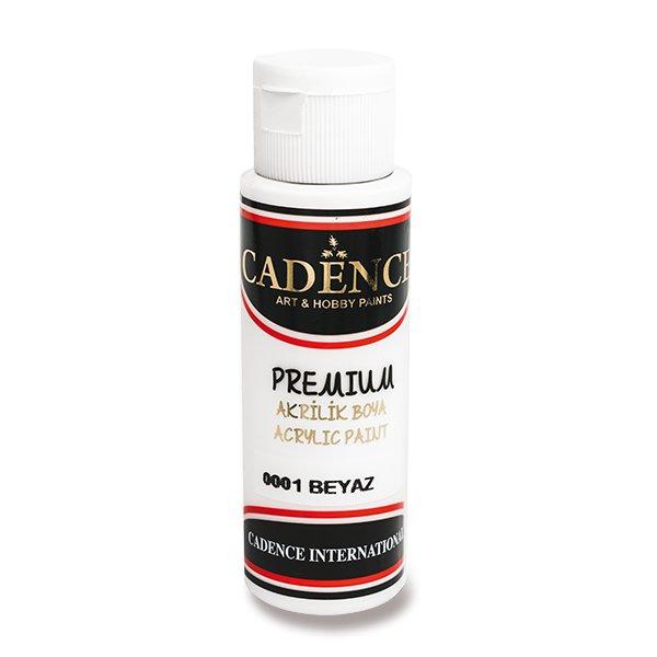 Školní a výtvarné potřeby - Akrylové barvy Cadence Premium bílá