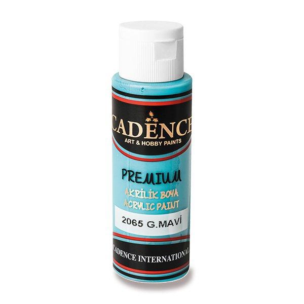 Školní a výtvarné potřeby - Akrylové barvy Cadence Premium azurová