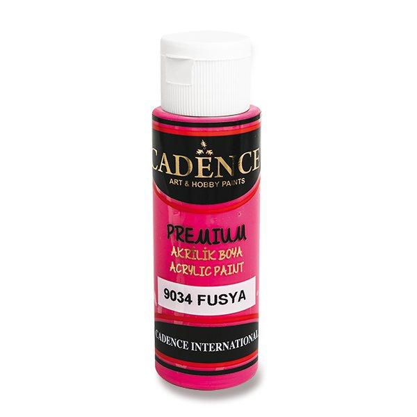 Školní a výtvarné potřeby - Akrylové barvy Cadence Premium fuchsiová