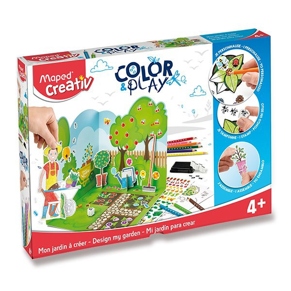 Školní a výtvarné potřeby - Sada MAPED Creativ Color & Play Zahrada