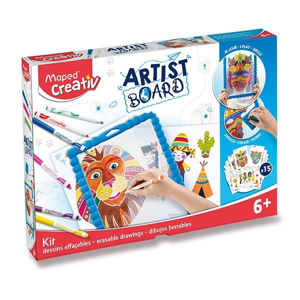 Školní a výtvarné potřeby - Sada MAPED Creativ Artist Board Transparentní tabule na kreslení