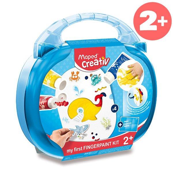 Školní a výtvarné potřeby - Sada MAPED Creativ Early Age Prstové barvy