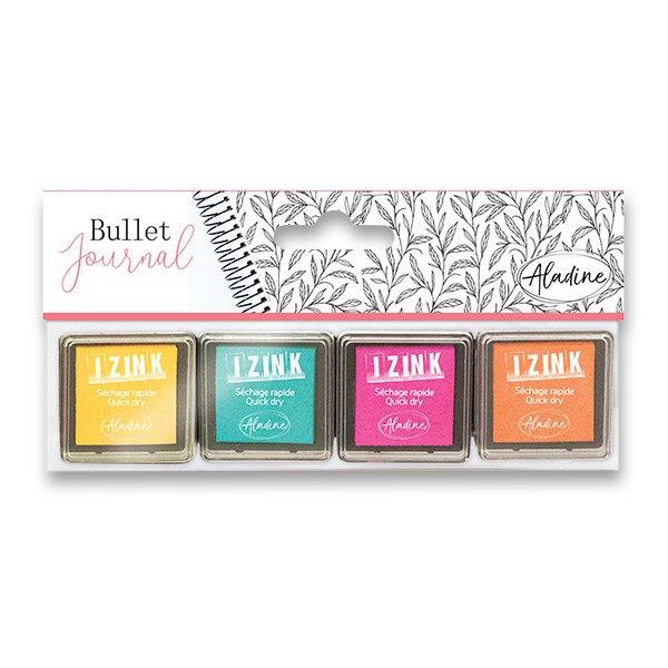 Školní a výtvarné potřeby - Razítkovací polštářky IZINK Bullet Journal Pastel
