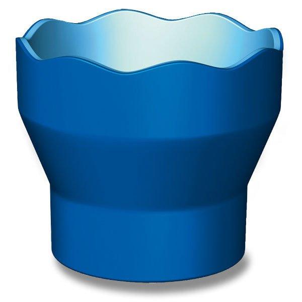 Psací potřeby - Kelímek na vodu Faber-Castell Clic&Go modrý