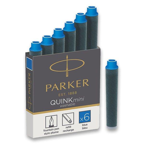 Psací potřeby - Inkoustové mini bombičky Parker modré
