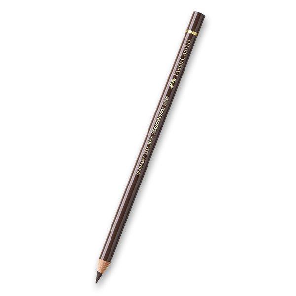Psací potřeby - Pastelka Faber-Castell Polychromos - hnědé a metalické odstíny 280