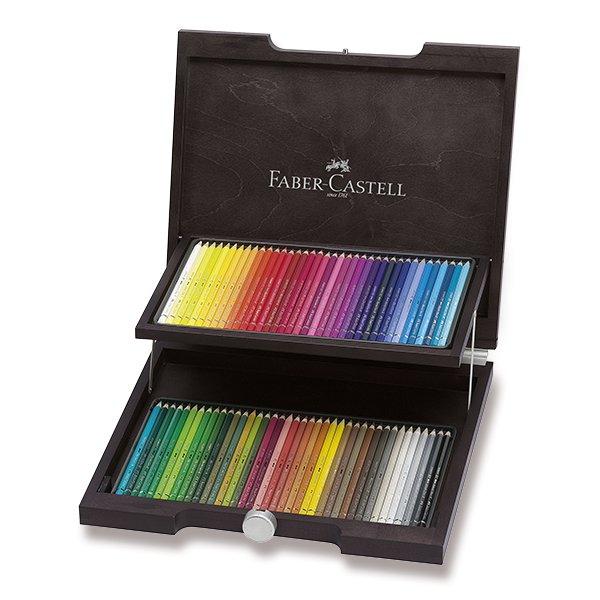 Psací potřeby - Akvarelové pastelky Faber-Castell Albrecht Dürer dřevěná kazeta, 72 barev
