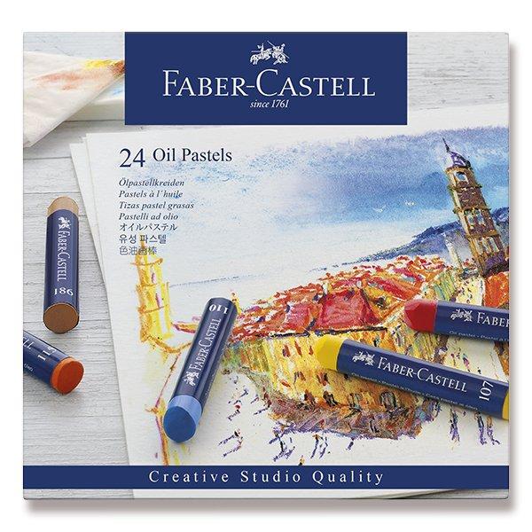 Psací potřeby - Olejové pastely Faber-Castell 24 barev