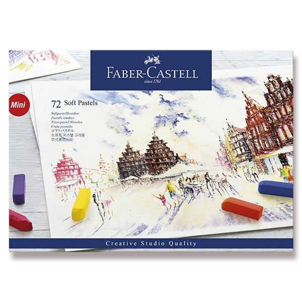 Psací potřeby - Pastelové křídy Faber-Castell Mini 72 barev