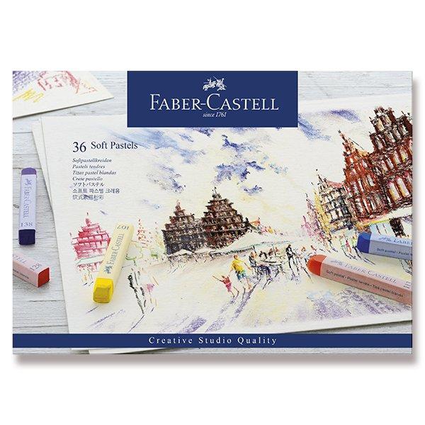 Psací potřeby - Pastelové křídy Faber-Castell 36 barev