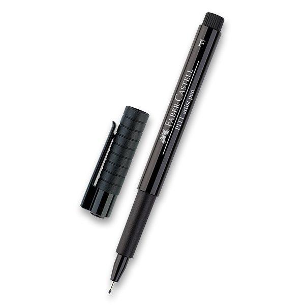 Psací potřeby - Popisovač Faber-Castell Pitt Artist Pen F, černý