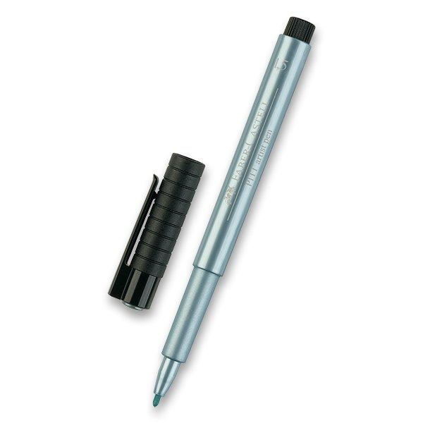 Psací potřeby - Popisovač Faber-Castell Pitt Artist Pen Metallic metalický modrý