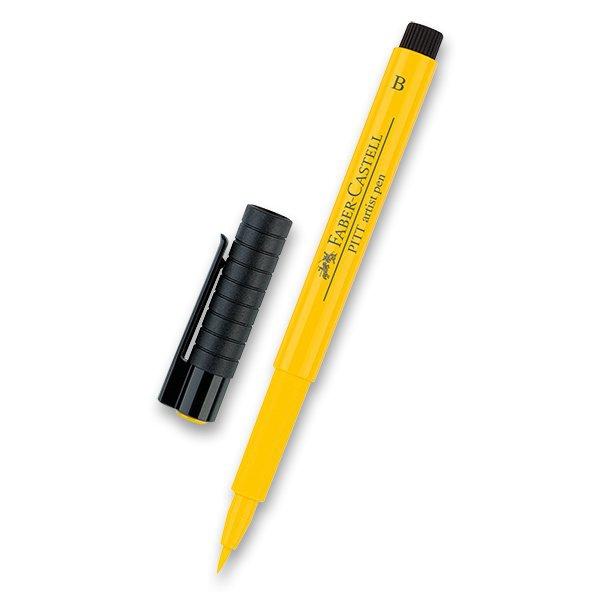 Psací potřeby - Popisovač Faber-Castell Pitt Artist Pen Brush - žluté a oranžové odstíny 107