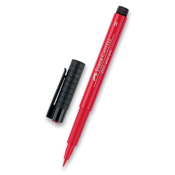 Psací potřeby - Popisovač Faber-Castell Pitt Artist Pen Brush - červené a růžové odstíny 121