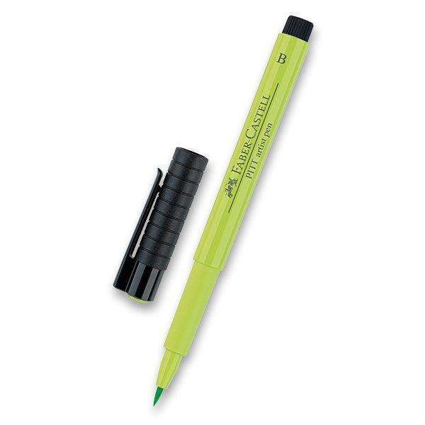 Psací potřeby - Popisovač Faber-Castell Pitt Artist Pen Brush - zelené odstíny 171
