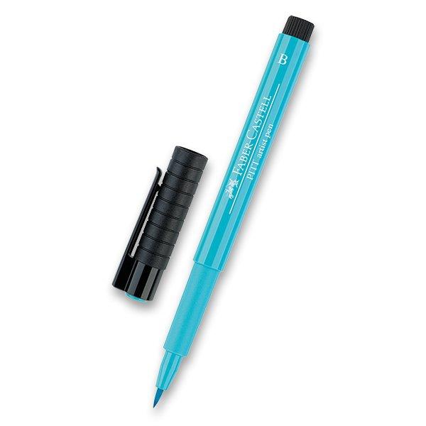 Psací potřeby - Popisovač Faber-Castell Pitt Artist Pen Brush - zelené odstíny 154