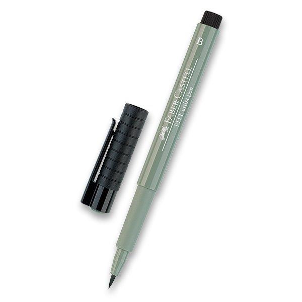 Psací potřeby - Popisovač Faber-Castell Pitt Artist Pen Brush - zelené odstíny 172