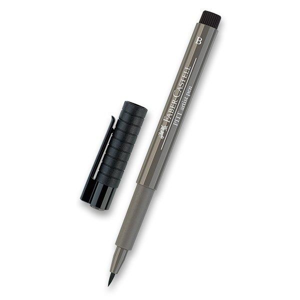 Psací potřeby - Popisovač Faber-Castell Pitt Artist Pen Brush - černé a šedé odstíny 273