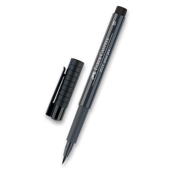 Psací potřeby - Popisovač Faber-Castell Pitt Artist Pen Brush - černé a šedé odstíny 235