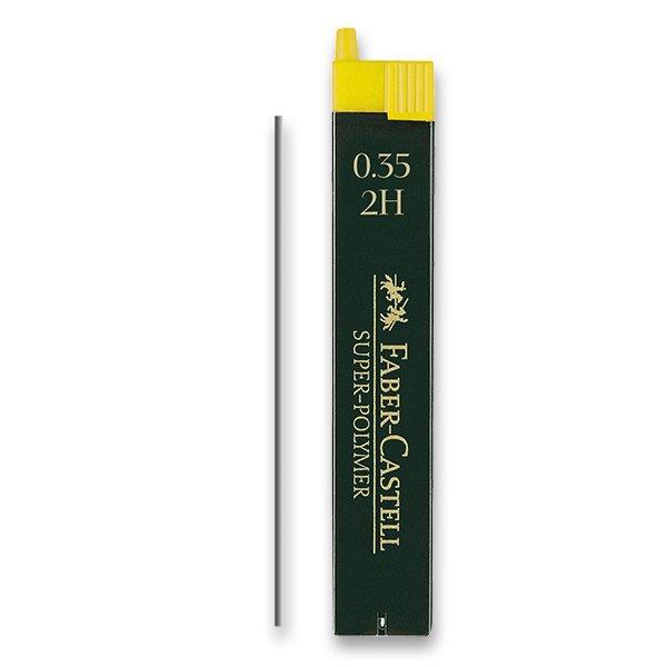 Psací potřeby - Tuhy Faber-Castell Super-polymer tvrdost 2H