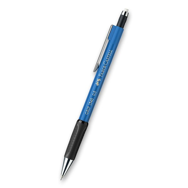 Psací potřeby - Mechanická tužka Faber-Castell Grip 1345 tm. modrá