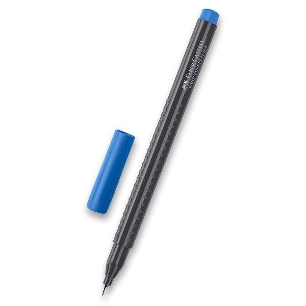 Psací potřeby - Popisovač Faber-Castell Grip 1516 - barevné tm. modrá