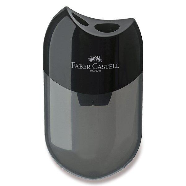 Psací potřeby - Ořezávátko Faber-Castell 2 otvory, černé