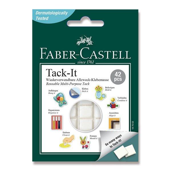 Psací potřeby - Lepicí hmota Faber-Castell Tack-it 30 g