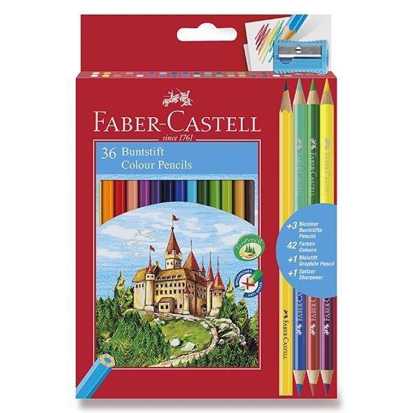 Psací potřeby - Pastelky Faber-Castell 36 barev