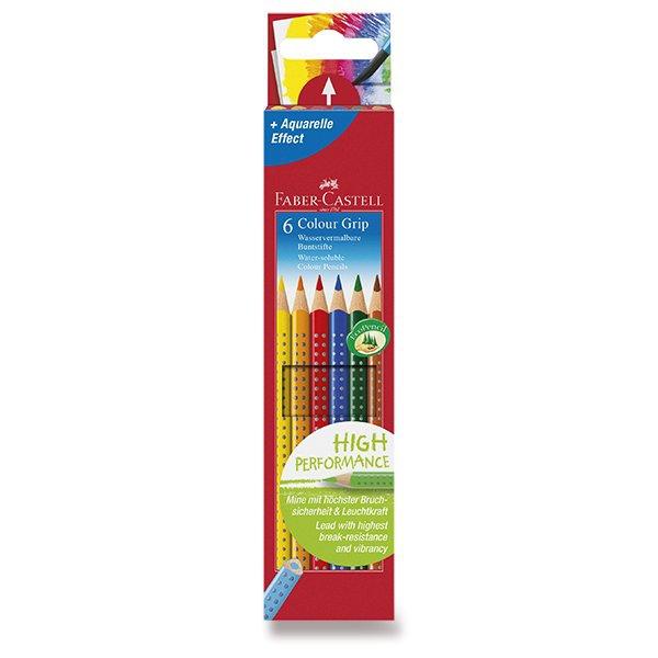 Psací potřeby - Pastelky Faber-Castell Grip 2001 6 barev