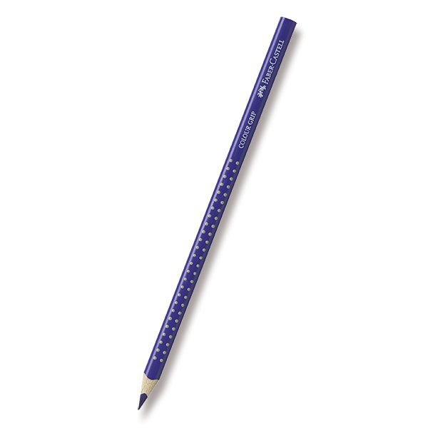 Psací potřeby - Pastelka Faber-Castell Grip 2001 - modré odstíny 37