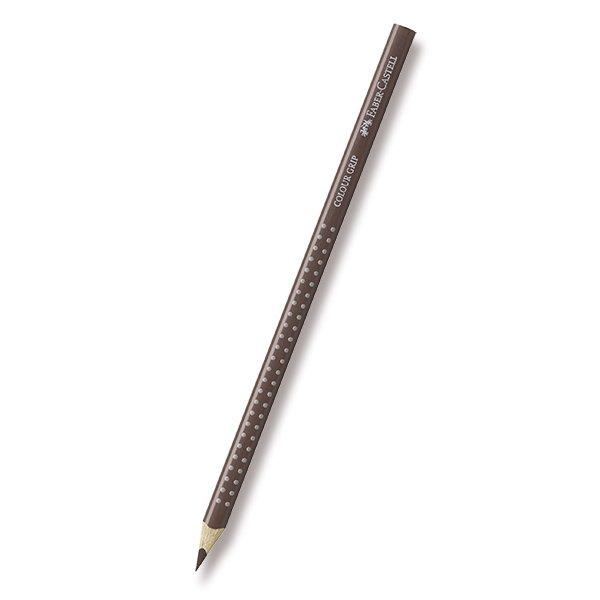 Psací potřeby - Pastelka Faber-Castell Grip 2001 - hnědé a metalické odstíny 76