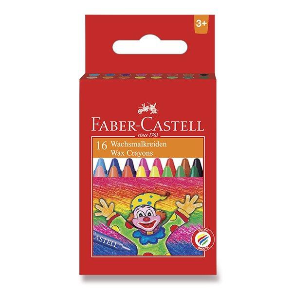 Psací potřeby - Voskovky Faber-Castell 16 barev