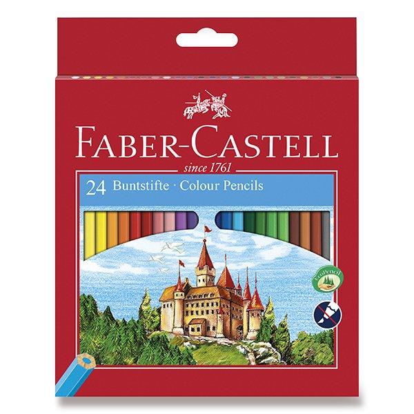Psací potřeby - Pastelky Faber-Castell 24 barev