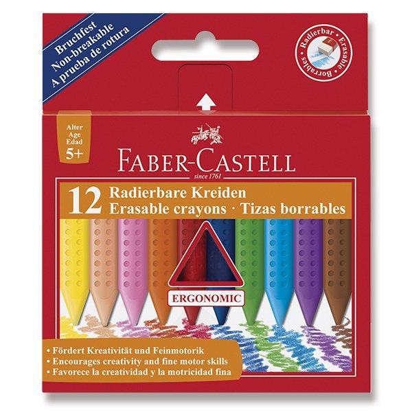 Psací potřeby - Pastelky Faber-Castell Plastic Colour 12 barev