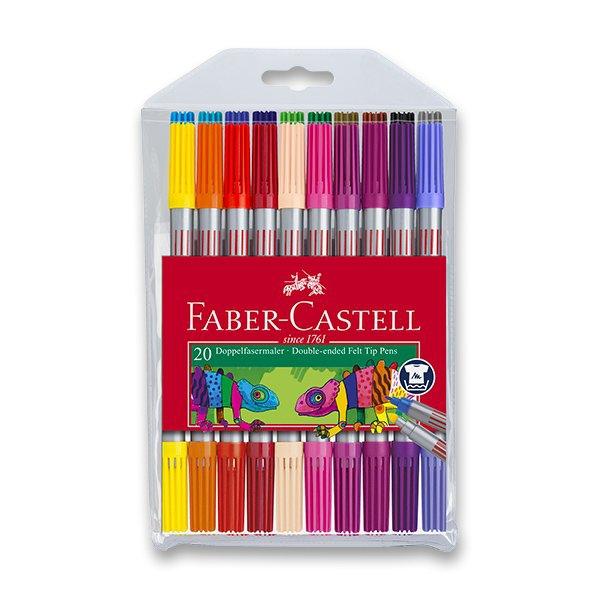 Psací potřeby - Dětské fixy Faber-Castell 20 barev