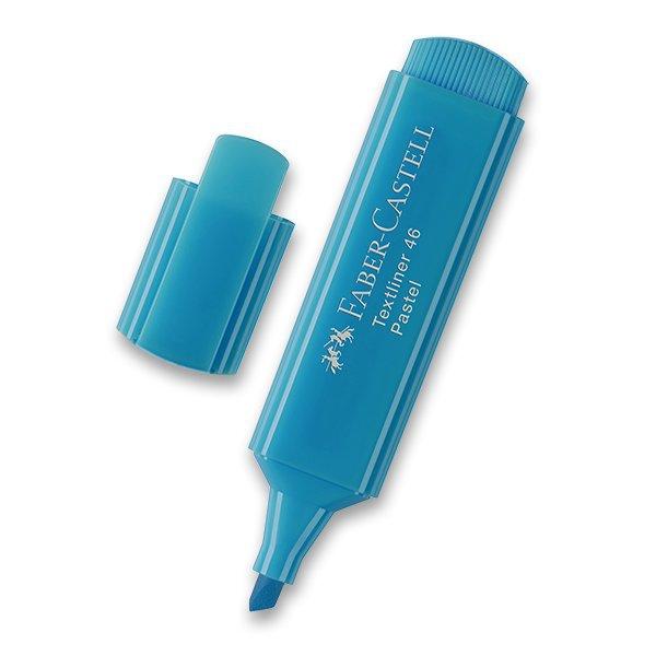 Psací potřeby - Zvýrazňovač Faber-Castell Textliner 1546 sv. modrá