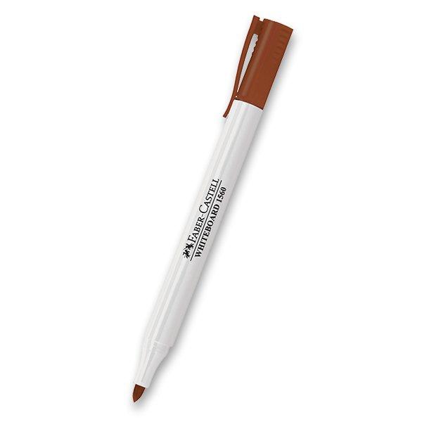 Psací potřeby - Popisovač Faber-Castell Slim Whiteboard Marker hnědý