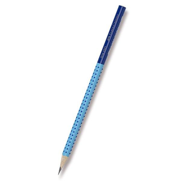 Psací potřeby - Grafitová tužka Faber-Castell Grip 2001 Two Tone modrá