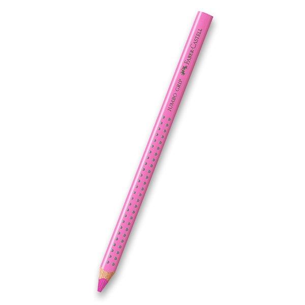 Psací potřeby - Pastelka Faber-Castell Jumbo Grip - červené a růžové odstíny 19
